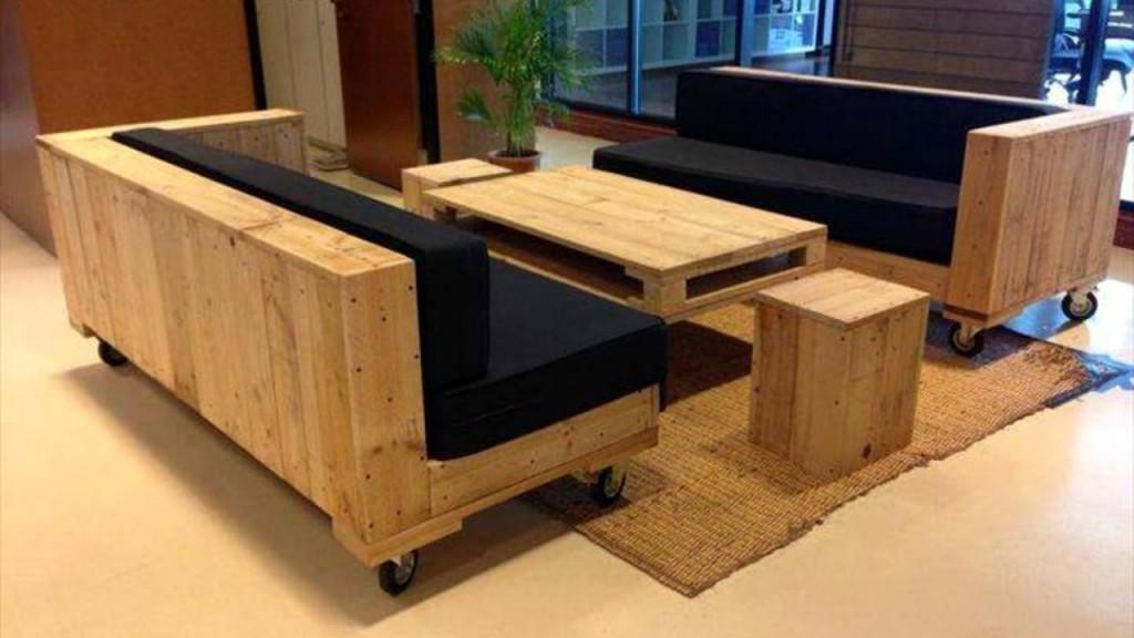Furniture Minimalis Berbahan Palet Catkayu Net