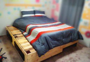 Ide Unik Ranjang Tidur Dari Kayu Palet