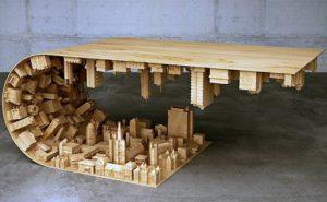 Inspirasi Meja Unik dari Kayu untuk Ruang Tamu