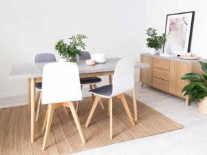 Memilih Meja Makan untuk Ruangan Sempit